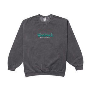 Vice 84 'Worldwide' Sweater - Washed Black - UN:IK Clothing