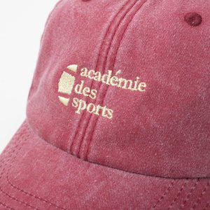 Vice 84 'Académie des Tennis' Washed Cap - UN:IK Clothing