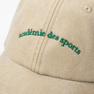 Load image into Gallery viewer, Vice 84 'Académie des Sports' Washed Cap - 2 Colours - UN:IK Clothing