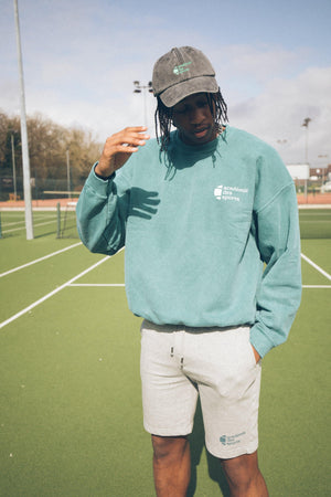 Vice 84 'Baseline' Sweater - Washed Green - UN:IK Clothing