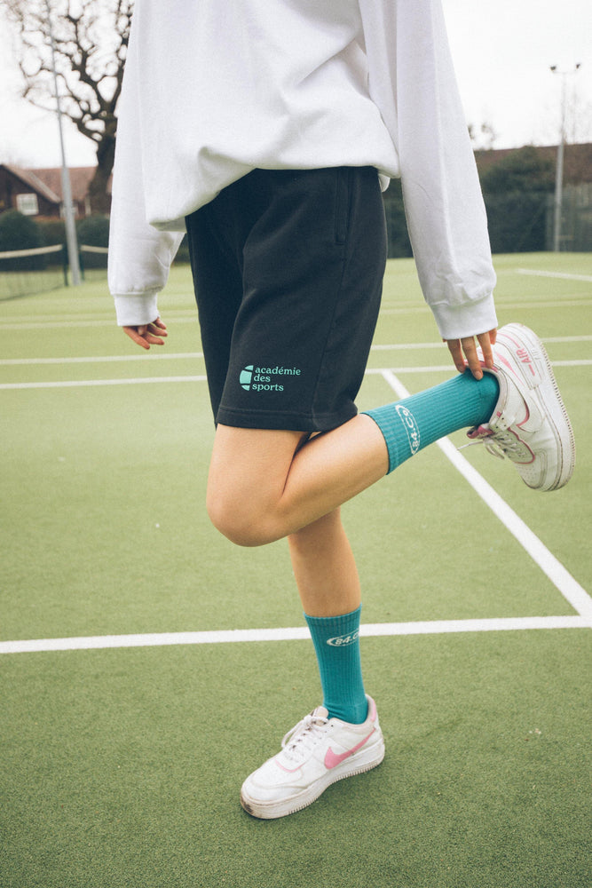 Load image into Gallery viewer, Vice 84 'Académie des Tennis' Jogger Shorts - UN:IK Clothing