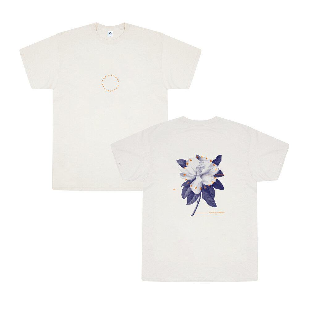 Colour Collective 'Science Wallflower' Tee - Natural - UN:IK Clothing