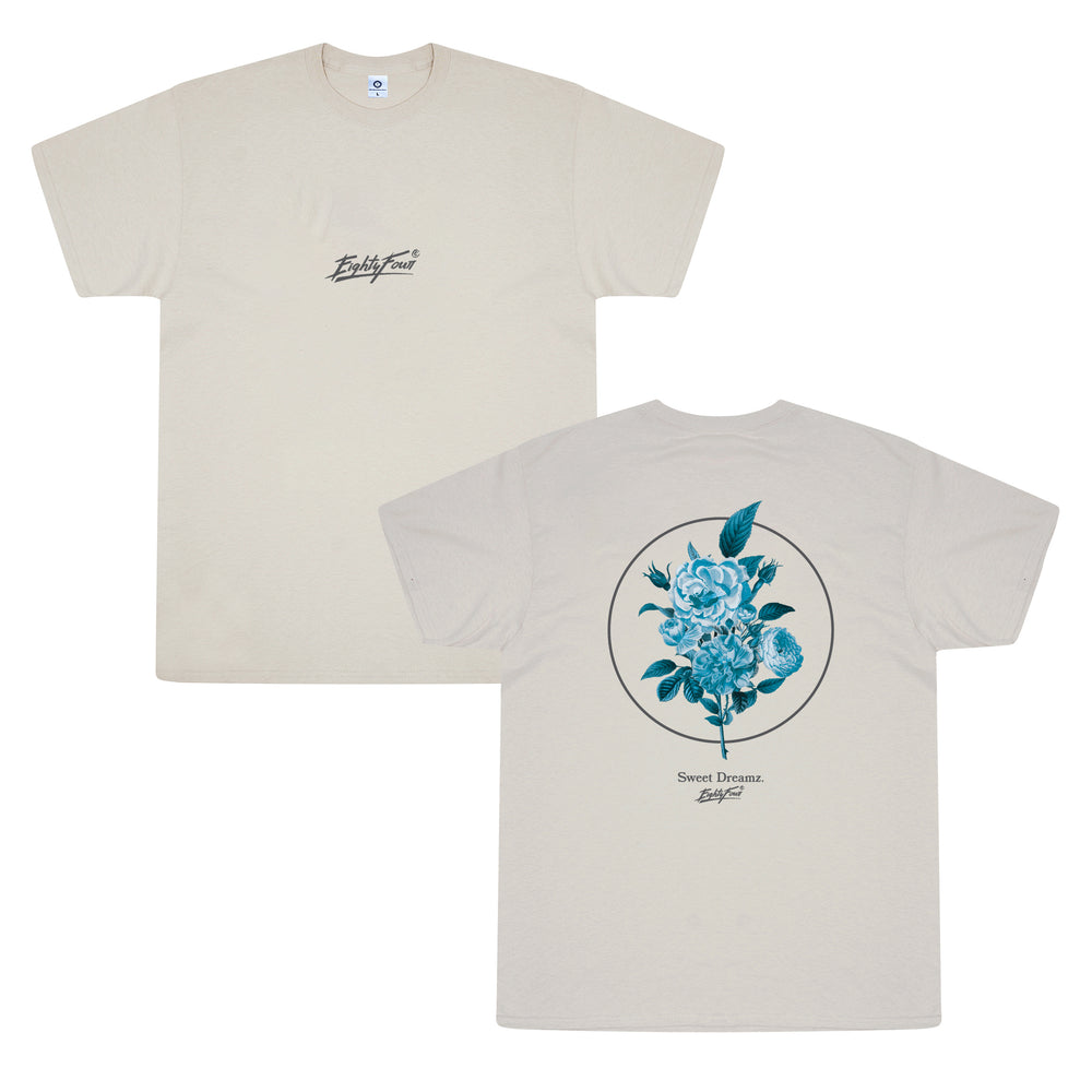 Vice 84 'Sweet Dreamz' Tee - Washed Sand