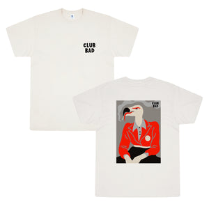 Load image into Gallery viewer, Melé x Club Bad 'Vultures' Tee - Natural