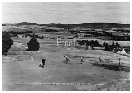 Pitlochry Golf Course Canvas Print 30