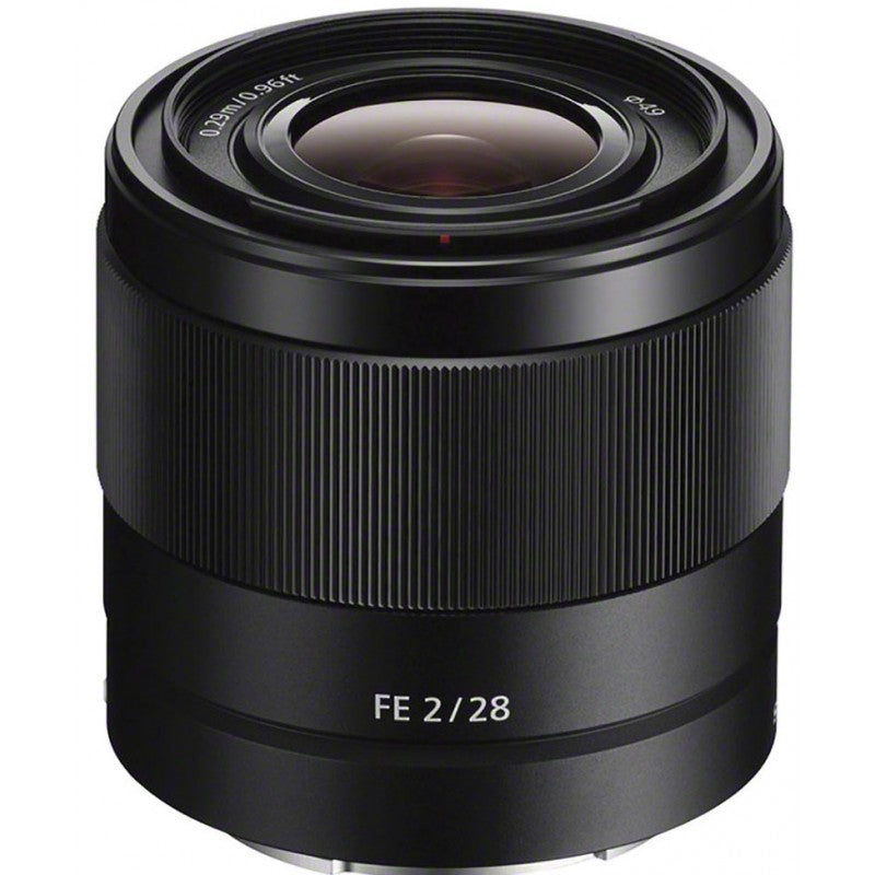 Sony FE 28mm f2 Lens E Mount Full Frame SEL28F20