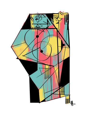 Christopher Mitchell - Cubist 2