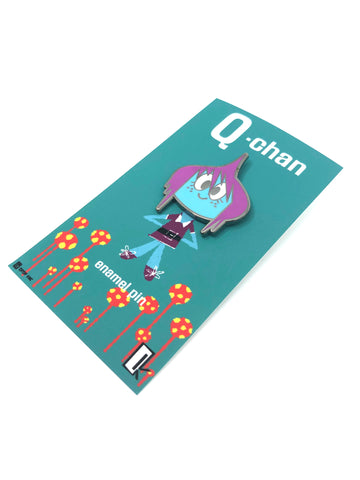 Q Pop x Christopher Mitchell - Q Chan Enamel Pin