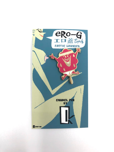 Q Pop x Christopher Mitchell - Ero-G Enamel Pin