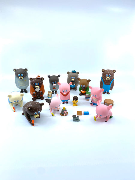 Green Cow Garden Mini Figure Collection by Kohei Ogawa x How2Work