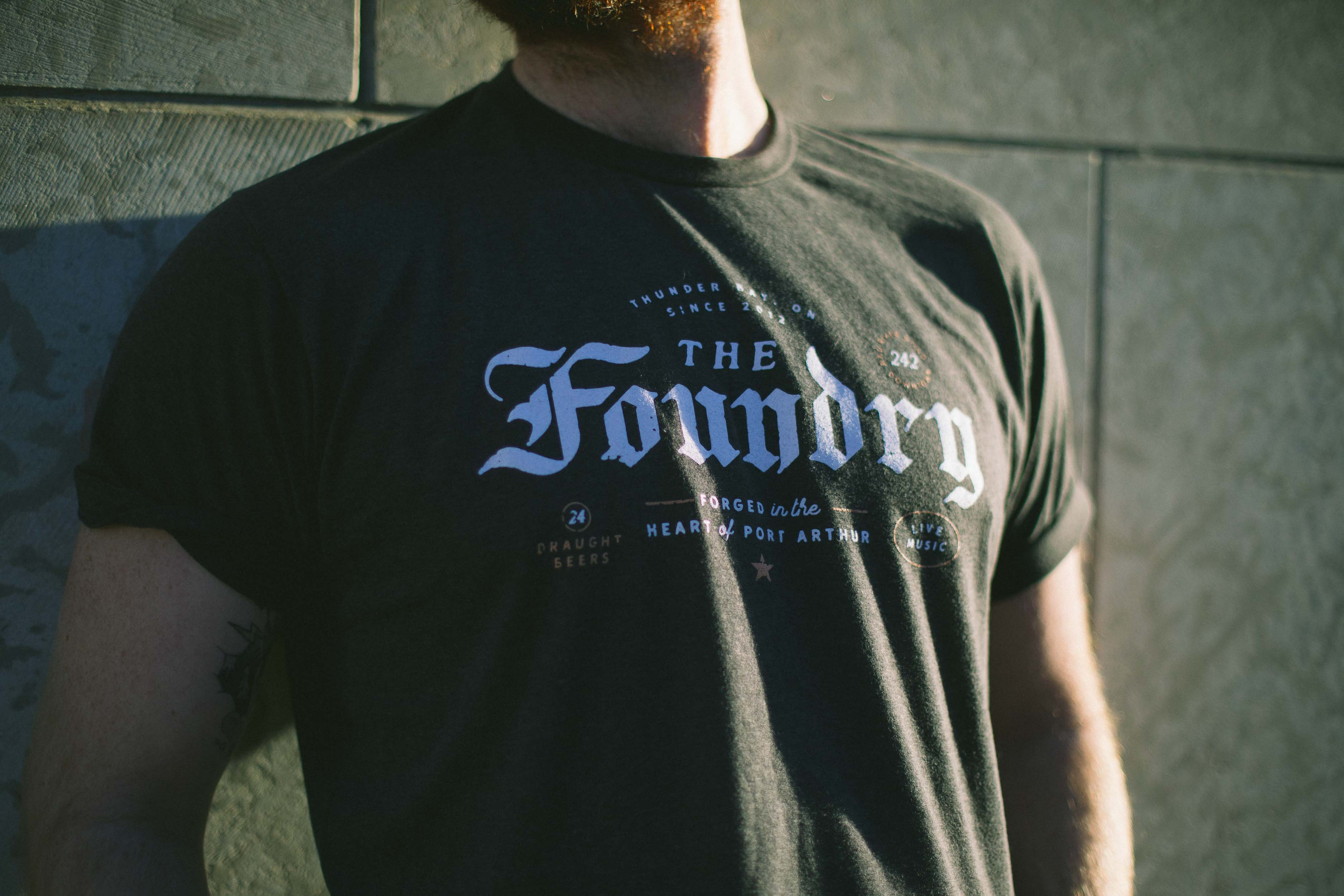 Foundry Tee's designed by Heavy Sleeper Co