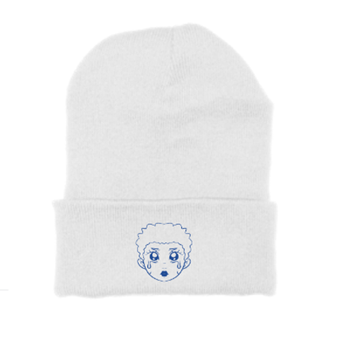 """SOMETIMES I FEEL BLUE"" BEANIE"