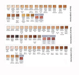 HD Glamour Creme Color Chart
