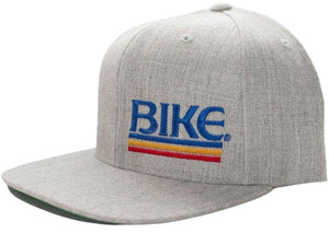 BIKE Flat Bill Logo Hat