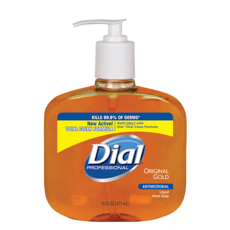 Dial® Antimicrobial Liquid Hand Soap - Gold (16 oz)