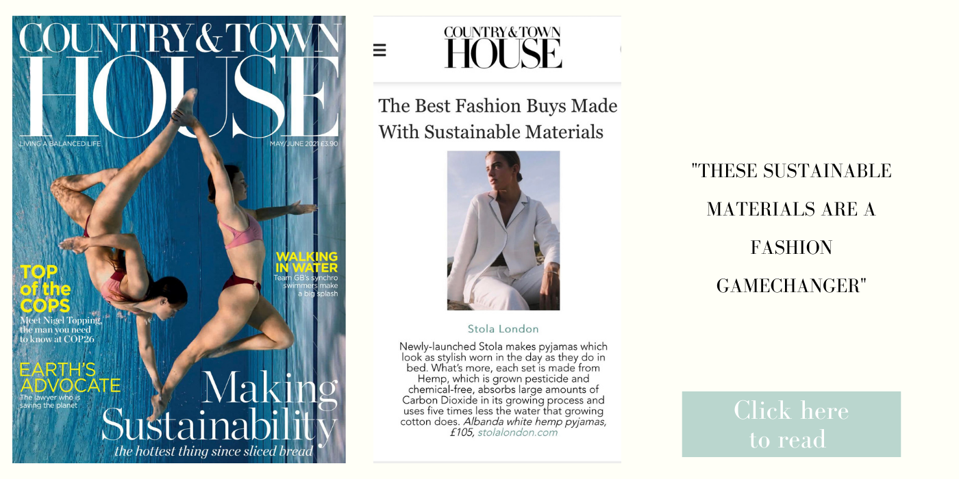 stola london in country and townhouse magazine