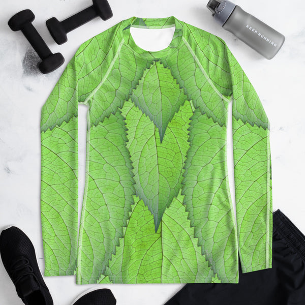 Tinkerbell Wintertime Cosplay Inspired Rash Guard