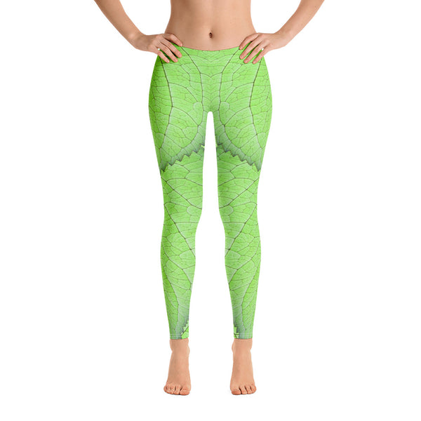 Tinkerbell Wintertime Cosplay Inspired Leggings