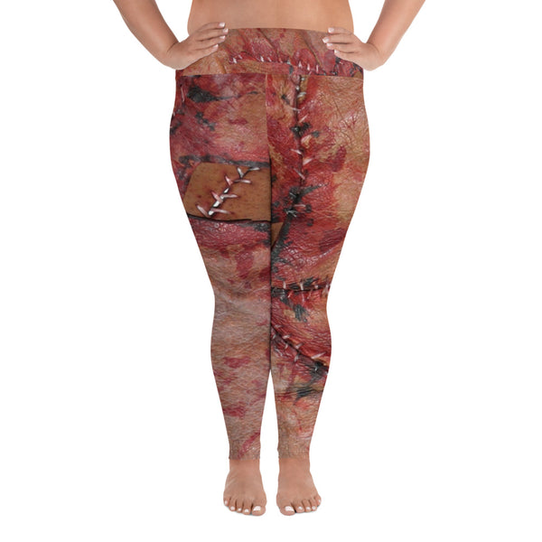 MEATWERX Plus Size Leggings
