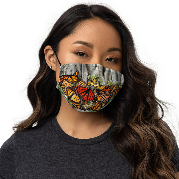 Monarch Butterfly Premium face mask