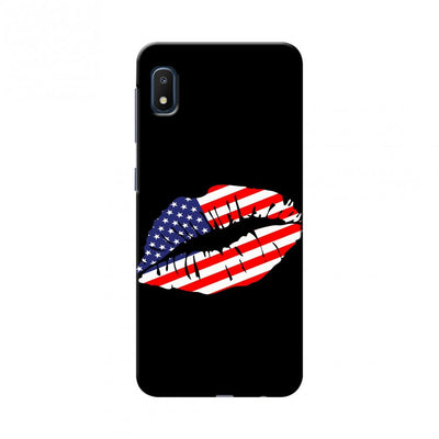 USA Flag - Kiss Mark Slim Hard Shell Case For - pinacled