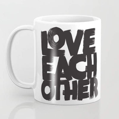 Love Each Other Mug - pinacled
