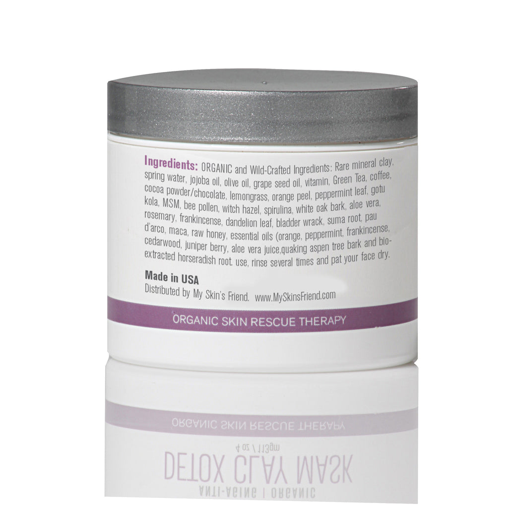 Organic Detox Clay Mask - My Skin's Friend  - 3