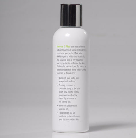 Organic Honey & Aloe Body Lotion - My Skin's Friend  - 2