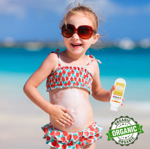Two pack of Organic Sunscreen SPF 30 - Broad Spectrum