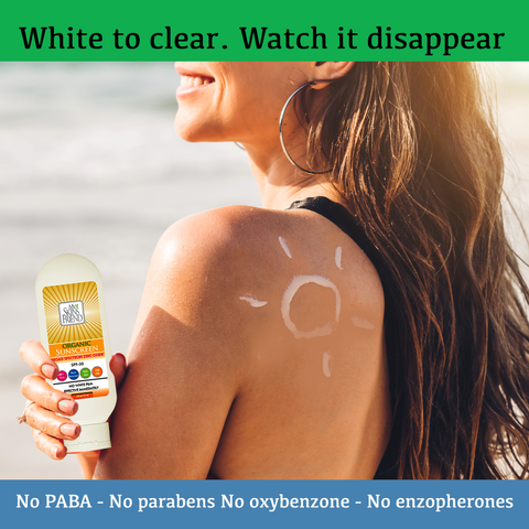 Image of Organic Sunscreen SPF 30 - Broad Spectrum