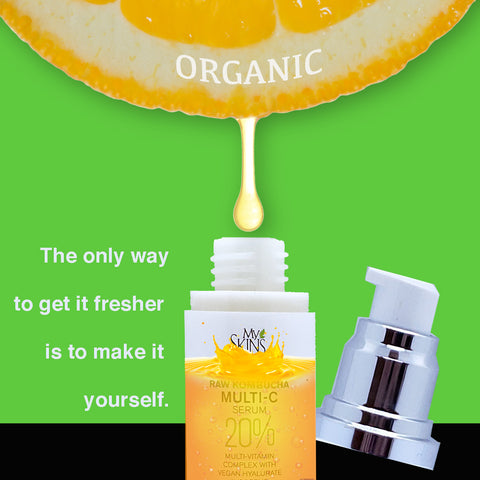 My Skin's Friend Real Vitamin C Serum with Raw Kombucha