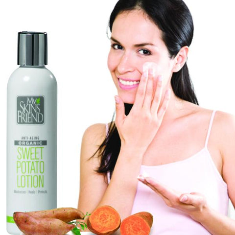 Image of Organic Face & Body Sweet Potato Lotion