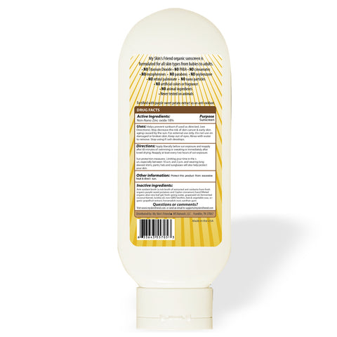 Image of Organic Broad Spectrum Sunscreen SPF 30 - My Skin's Friend  - 2