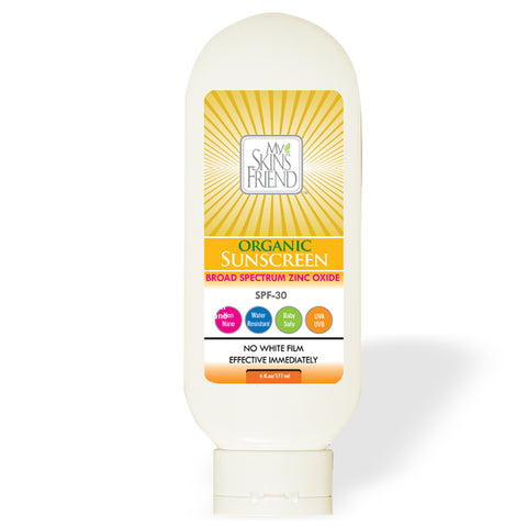 Image of Organic Broad Spectrum Sunscreen SPF 30 - My Skin's Friend  - 1