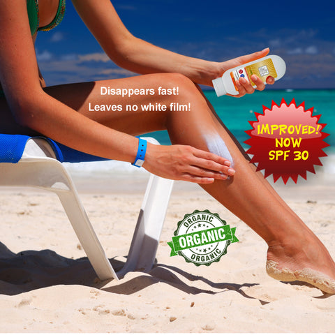 Organic Broad Spectrum Sunscreen SPF 30 - My Skin's Friend  - 4