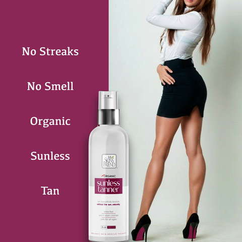 Image of NEW 6 oz Organic Self Tanner - 50% MORE TAN. SAME PRICE!