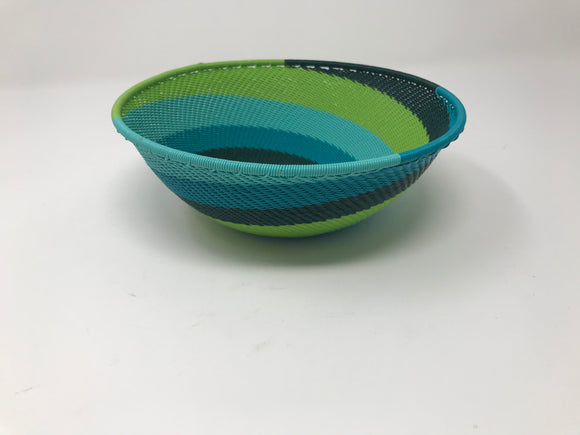 Telephone Wire Basket, MB Medium Bowl  (6.2