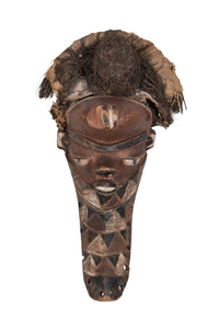 Mbuya Mask, Pende Tribe, Democratic Republic of the Congo