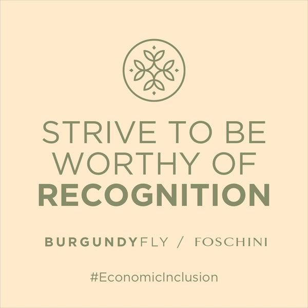 Burgundy Fly/Foschini-Strive To Be Worthy of Recognition