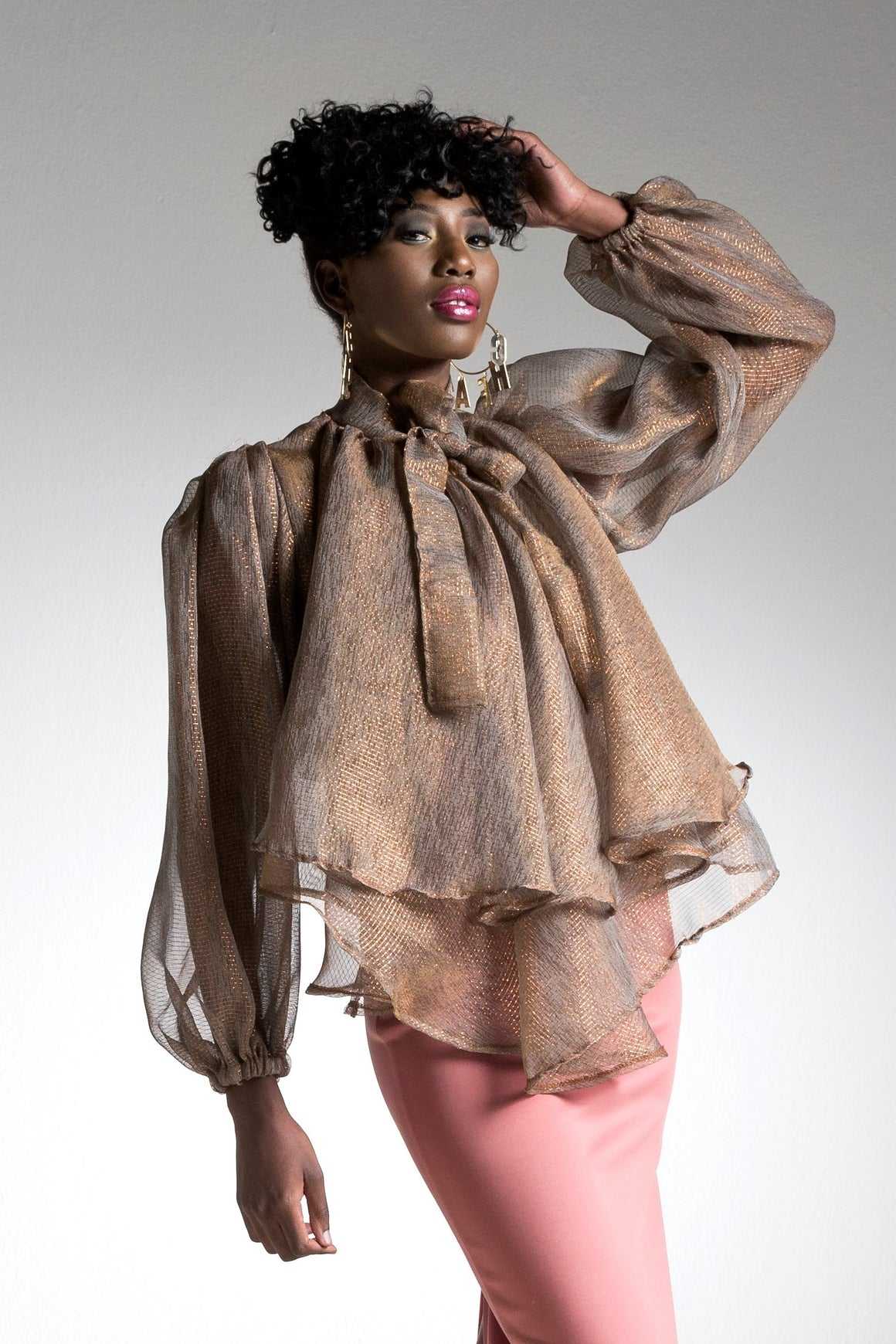 Felise' Sheer Blouse