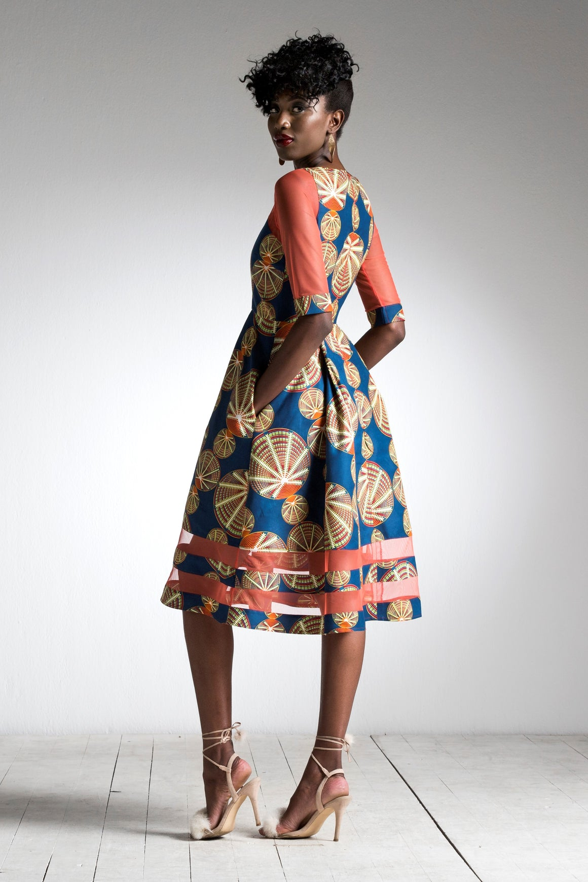 African Chic Dress