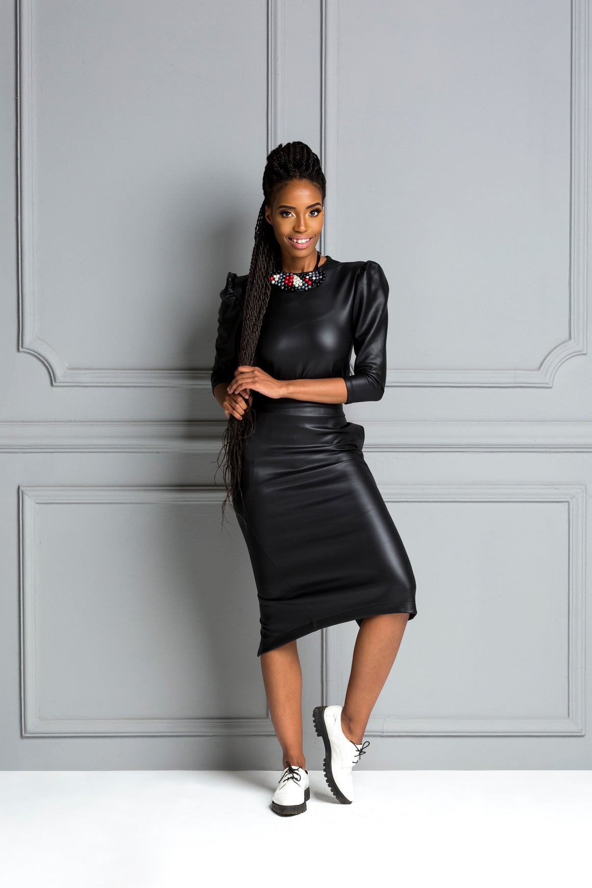 Kea Black Skirt X