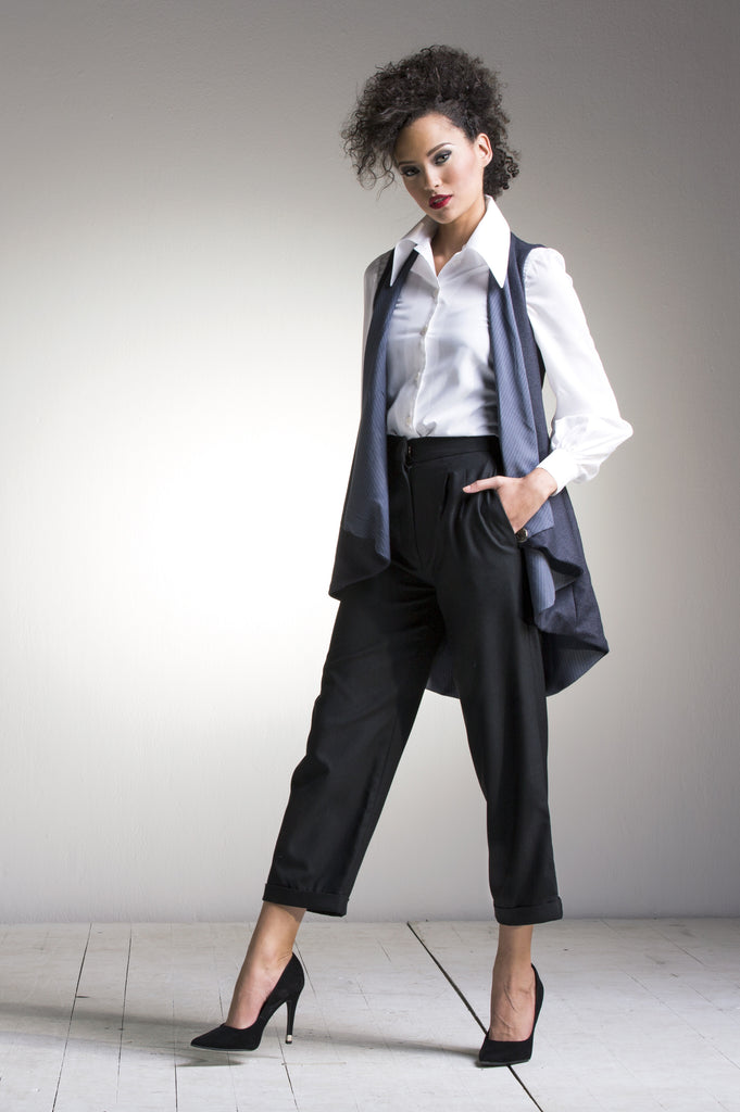 Classic Shirt, Flare Waist Coat & Old School Trousers