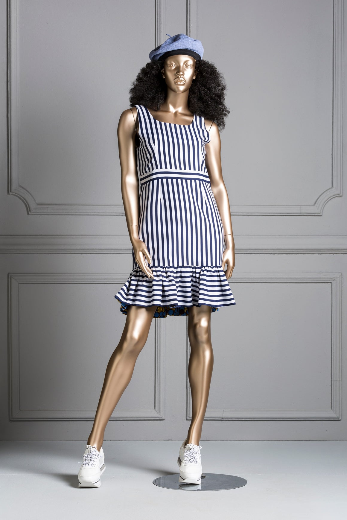 Ms Fila Stripe Dress