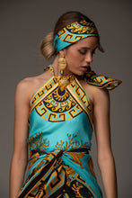 "Load image into Gallery viewer, ""THALASSA"" SILK TOP"