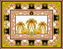 "Load image into Gallery viewer, ""ANANAS"" SILK PAREO"