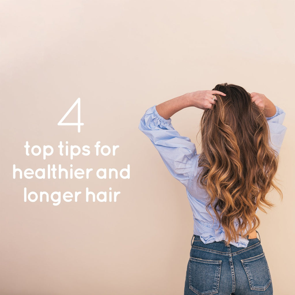 Why isn't my hair growing? 4 Top tips for healthier and longer hair