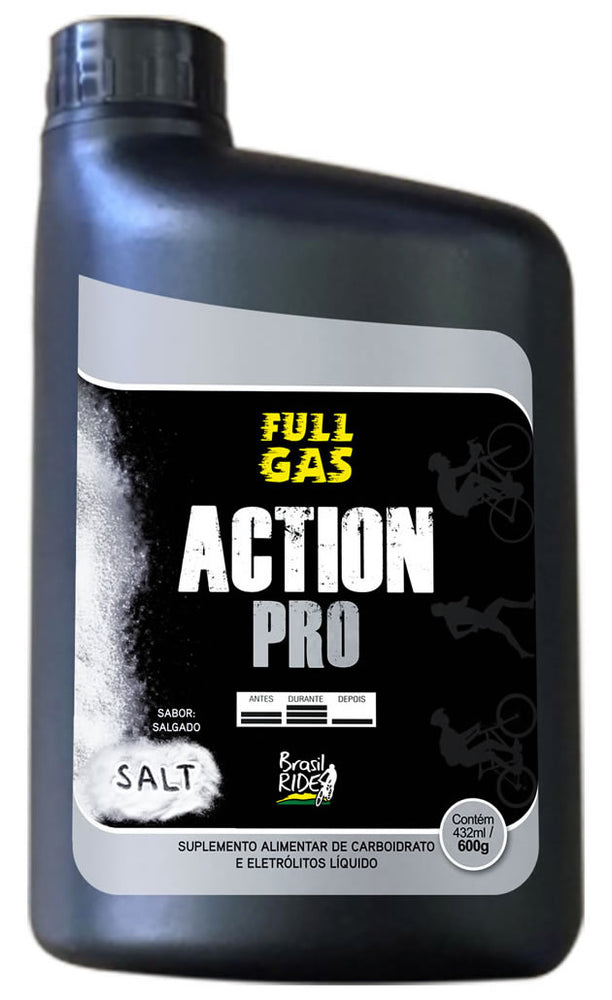 Action Pro Gel de Palatinose - Sabor Salt