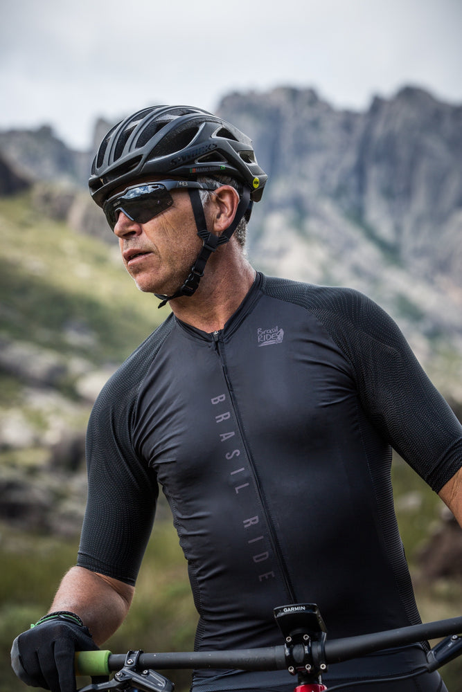 Men's Reflective Black Jersey
