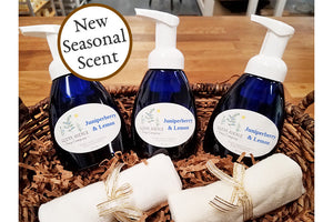 New Seasonal Scent, Juniperberry + Lemon!